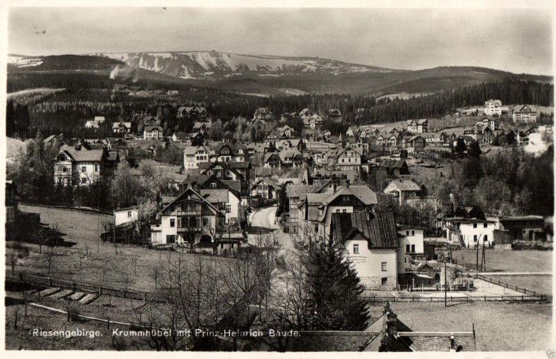 Foto AK,  Krummhübel, Prinz-Heinrich Baude, ca. 1925 0