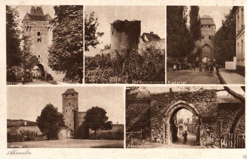 Foto AK, Ahrweiler, Mehrbildkarte, ca. 1925 0