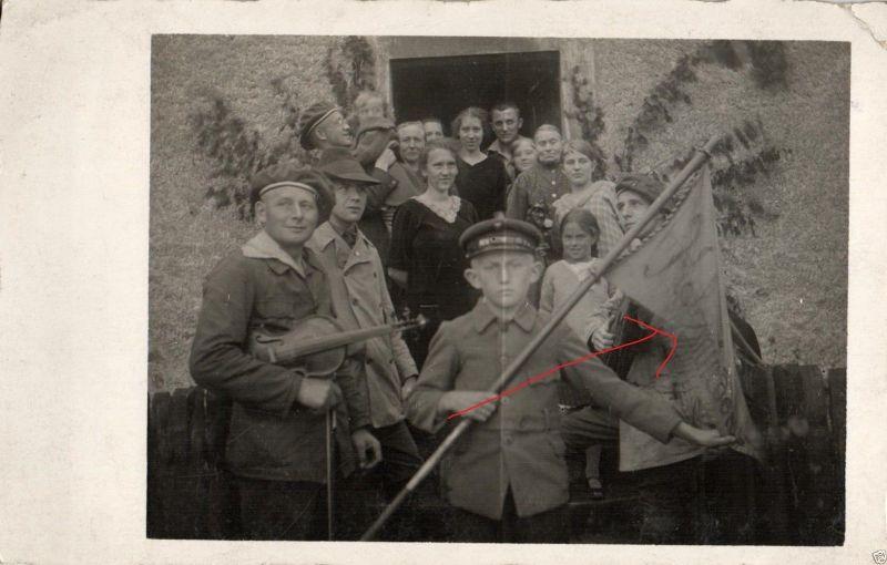Originalfoto 9x13cm, Konzertverein Wesergold Holzminden ca. 1923 0