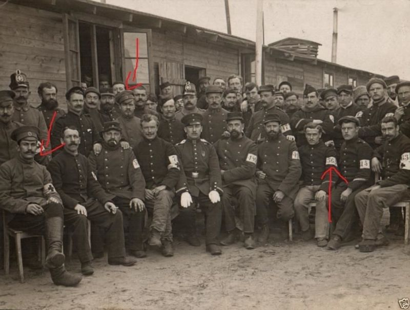 Originalfoto 9x12cm, Gefangene Franzosen