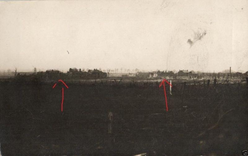 Originalfoto 9x13cm, aus Deutscher Stellung im Elsass 0