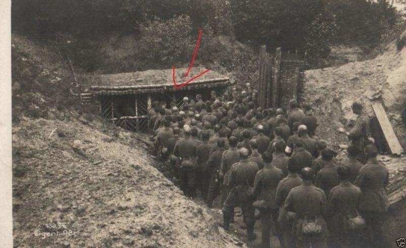 Originalfoto 9x13cm, Soldaten, Feldgottesdienst, 8. A.R, 1916 0