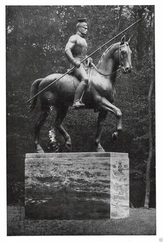 Foto AK, Kameradschaft ehem. Königs-Ulanen, Ehrenmal in Eilenriede, 1974