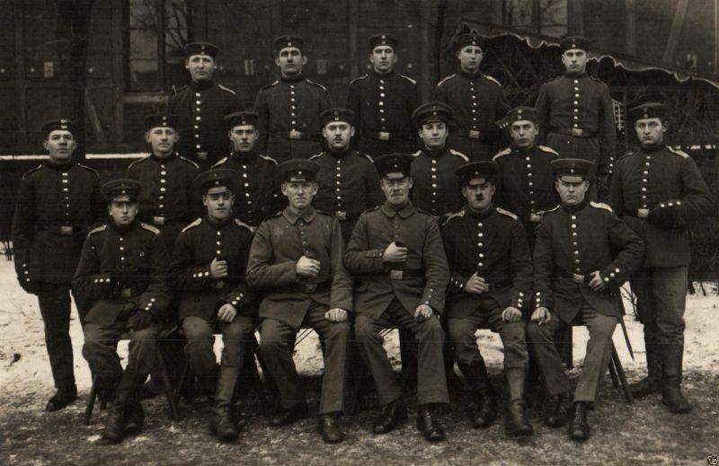 Originalfoto 9x13, Soldaten Inf. Regt. 15, Bromberg, ca. 1915