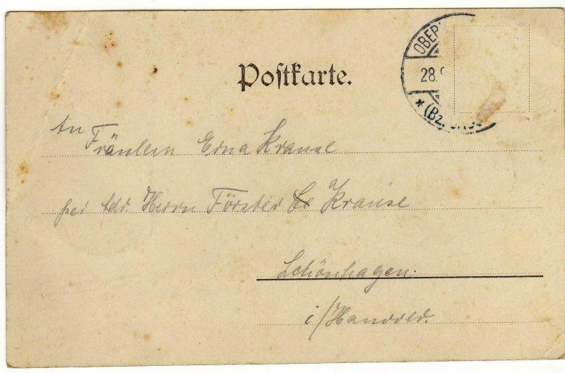 Foto AK, Dahlheim i. Hann., Gasthof Gerwig, ca. 1905 1