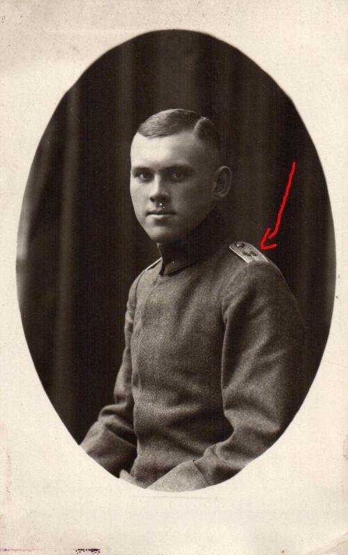 Originalfoto 9x13, Leutnant, Inf. Regt. 49, 1918