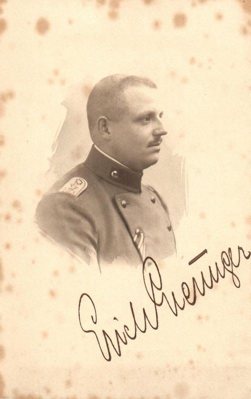 Originalfoto 9x13, Leutnant, Artillerie, 1918