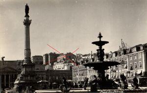Originalfoto 9x13cm, Lissabon, Praca Don Pedro IV,1927