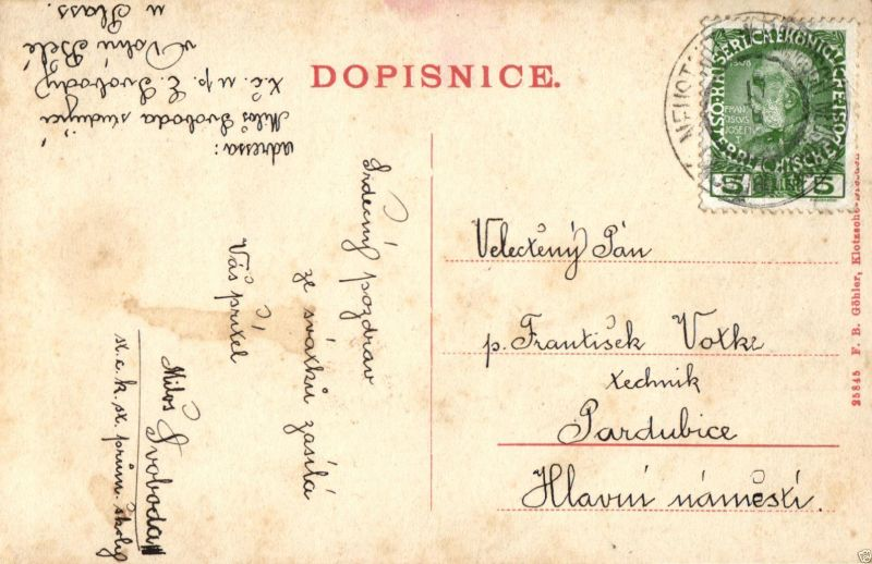 Foto AK, Dolni-Bela, Böhm. Neustadtl, ca. 1900 1