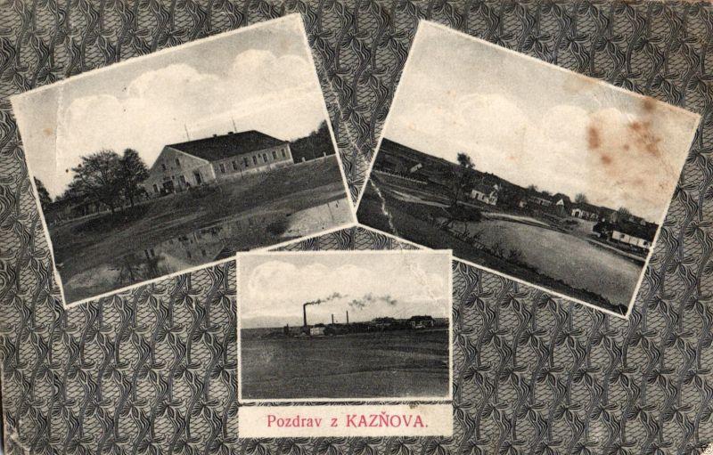 Foto AK, Kasnov, 1913