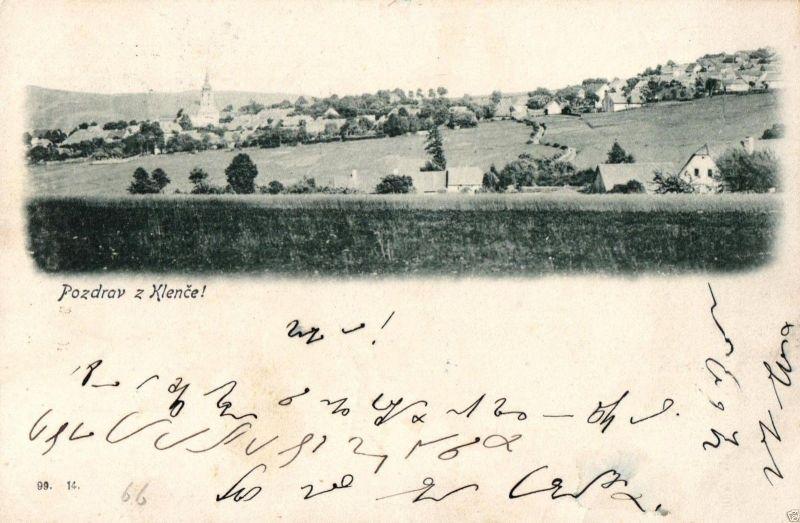 Foto AK, Klence, 1899