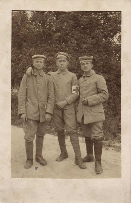 Originalfoto 9x13,Sanitäter 29. Infantrie Division, 1915