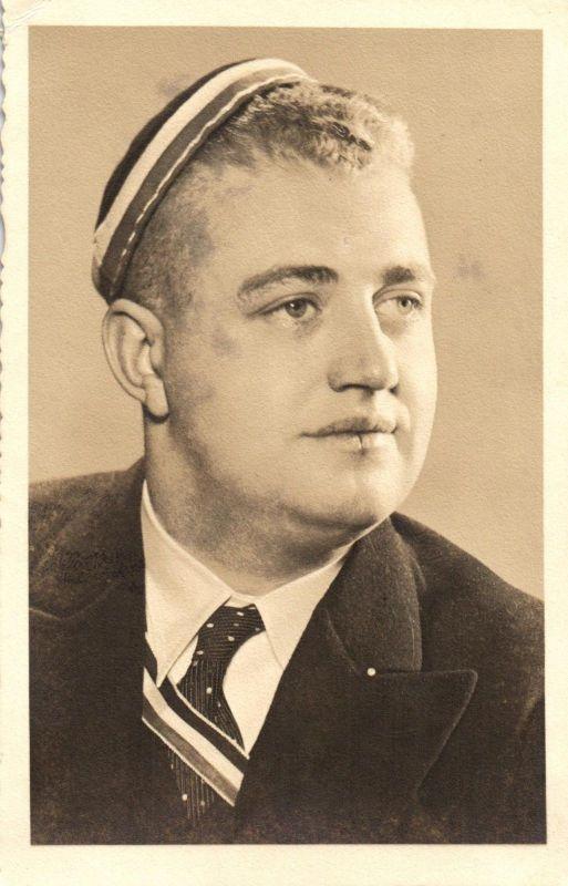 Originalfoto 9x13, Hannoveraner Student, Zirkel, 1935