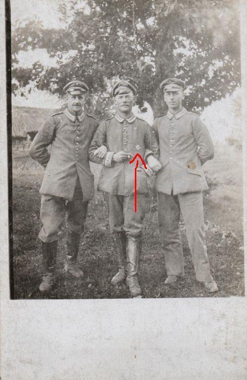 Originalfoto 9x13cm, Deutsche Unteroffiziere, EK I, ca. 1916
