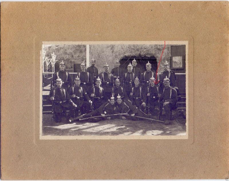 Originalfoto 10x15cm, Soldaten Inf. Rgt. 15 Köln, ca. 1910