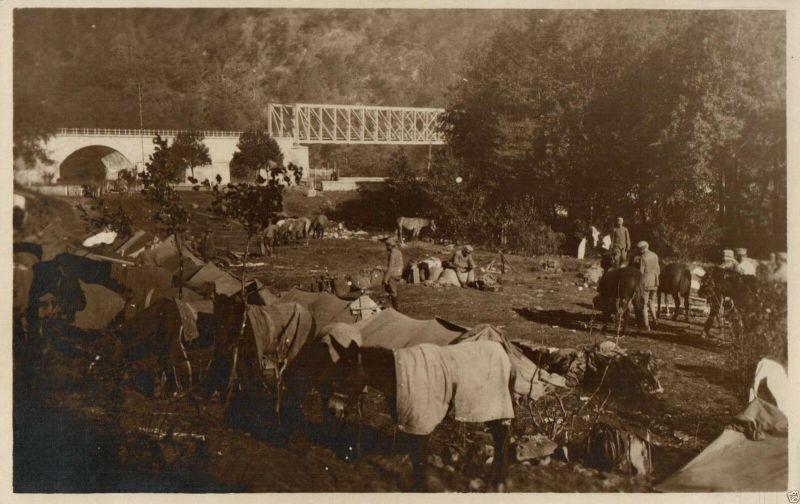 Originalfoto 9x13cm, Soldaten an der Ungarisch-Rumänische Grenze, ca. 1917