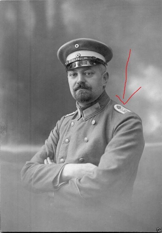 CDV 10x14cm, Rittmeister Alfred Horstmann, Fuhrparkk. 177 Hannover, 1915