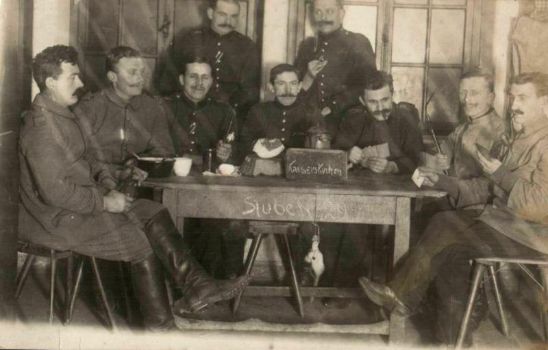 Originalfoto 9x13cm, Soldaten mit