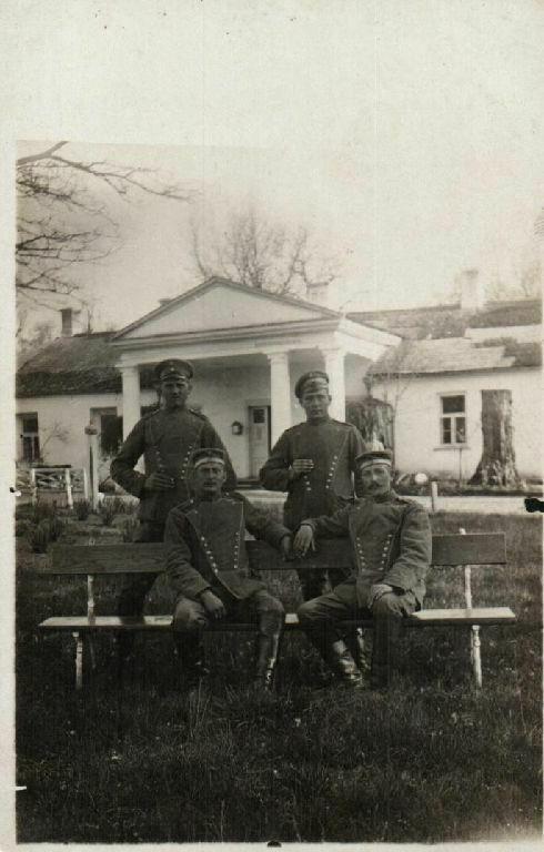 Originalfoto 9x13cm, Soldaten, Dragoner