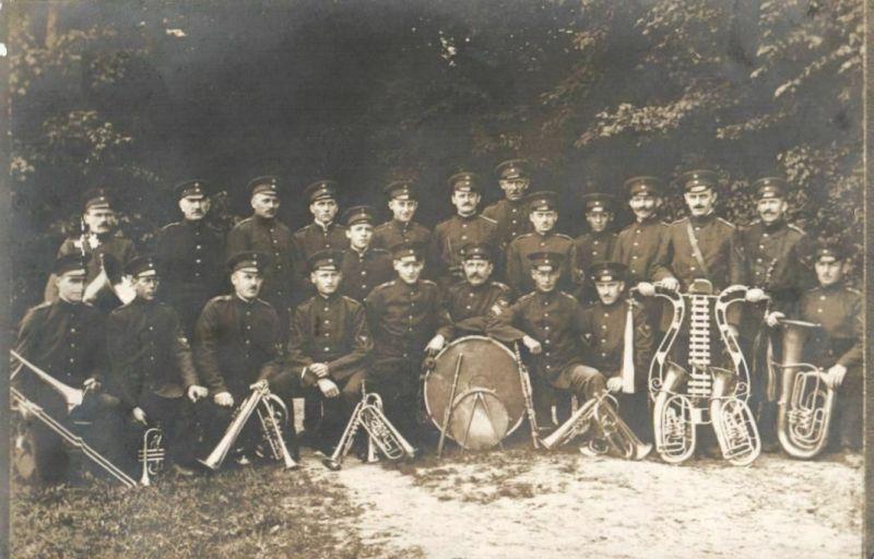 Originalfoto 9x13cm, Heeresmusiker, Kapelle, Ärmelabzeichen