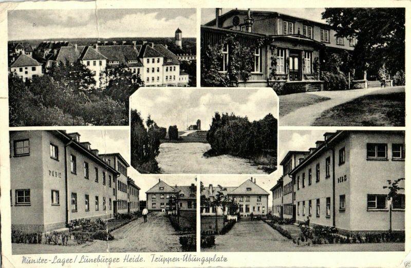 Foto AK, Munster-Lager, Truppenübungsplatz, 1965