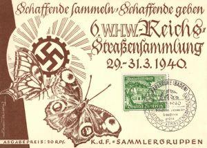 21435/ Ganzsache, Winterhilfswerk 1940