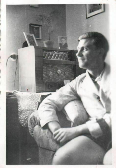 Originalfoto 6x9cm, Radio Reichsempfänger Weimar 1940