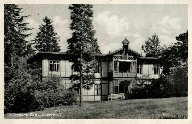 Foto AK, Silkeborg, Kinderheim, 1944