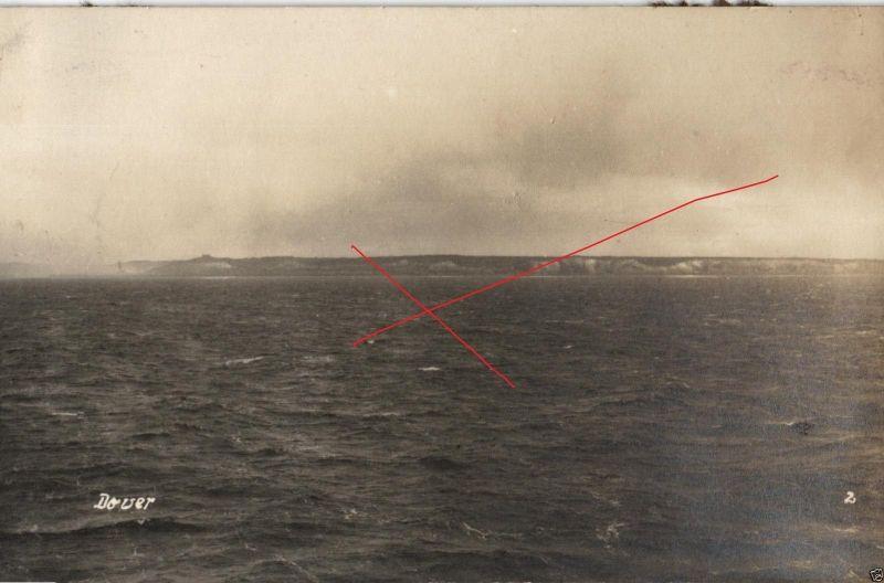 Originalfoto 9x13cm, LS Schleswig-Holstein vor Dover, 1927