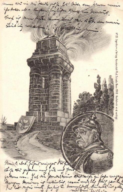 Künstler Ak, Litho,  Bismarck, 1900