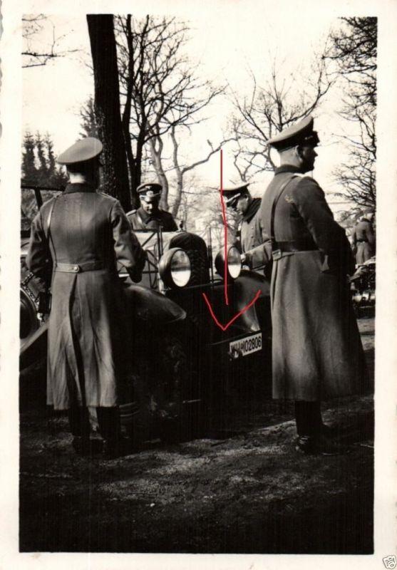 Originalfoto 9x6cm, Oberstlt. Rettemeier, Pz. Abw. Abtl. 22 Bremen