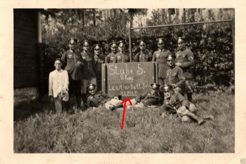 Originalfoto 9x6cm, Soldaten 6.Komp. Landw. Batl. Hemer
