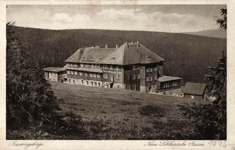Foto AK, Riesengebirge, Neue Schlesische Baude, ca. 1925