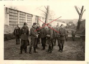 Originalfoto 6x9cm, Soldaten auf Schießstand Breslau-Carlowitz, 1940