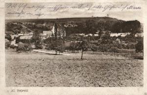 Foto AK, St. Thomas, Stempel 12.