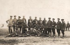 Originalfoto 9x13cm, Soldaten IR 74, II Rekruten Depot Vahrenwalder Heide