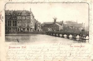 Foto AK, Gruss aus Kiel, Das kleine Kiel, 1900