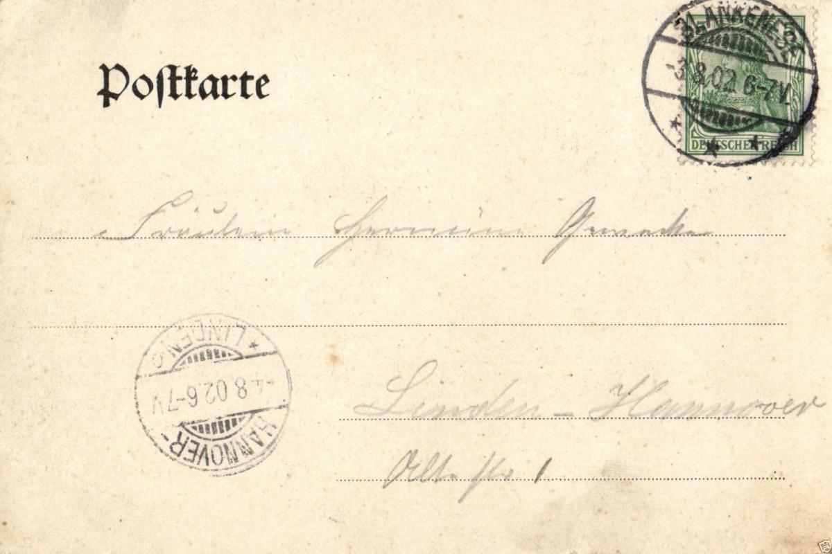 Foto AK, Hamburg-Blankenese Blick vom Süllberg, 1902 1