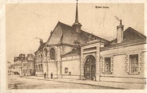 Künstler AK, Dieu, Frankreich, 1916