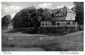 Foto AK, Nienburg, Hotel Weserschlößchen, 1939