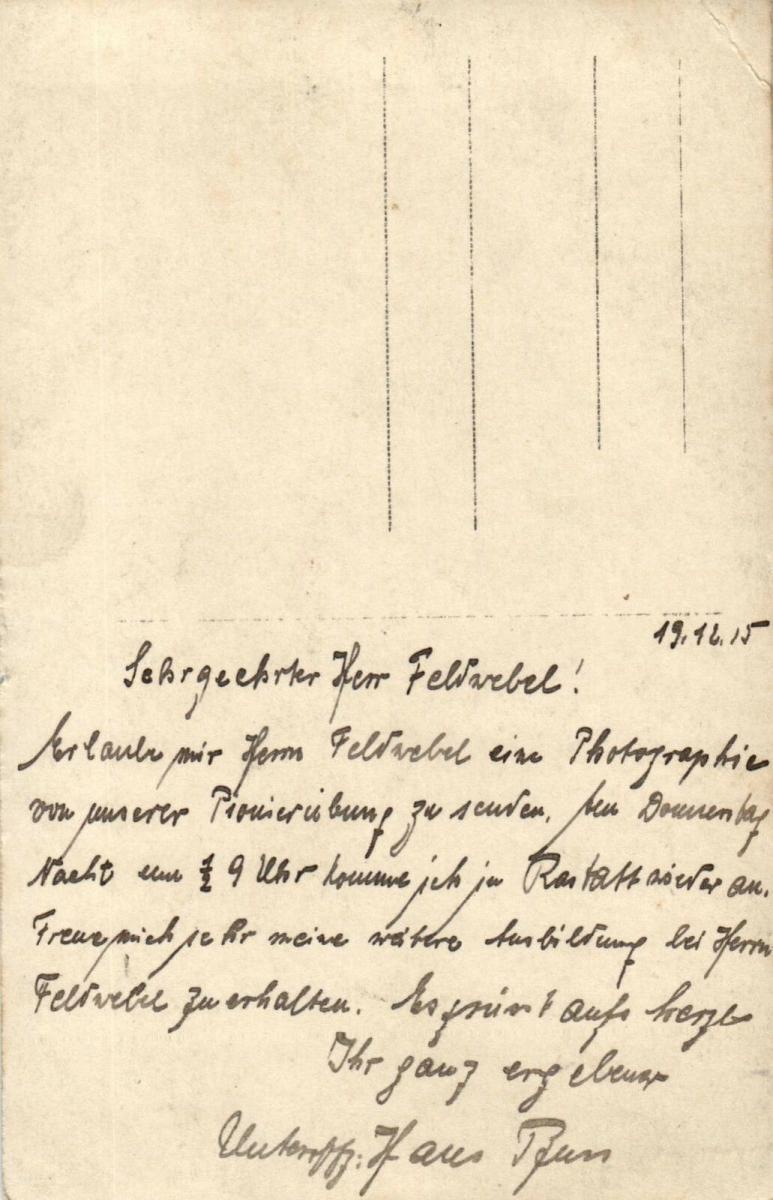 Originalfoto 9x13, Pionierübung bei Rastatt, 1915 1