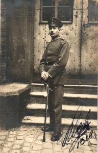Originalfoto 9x13, Feldwebel Badisches IR 111 Rastatt, 1918