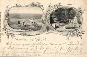 Foto AK, Jugendstil, Wittmarshof, Kapelle, 1902