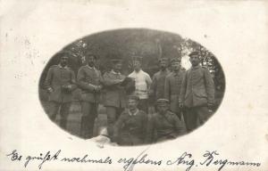 Originalfoto 9x13, Soldaten Etappenfuhrparkkolonne 5, 1915