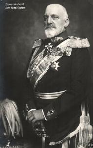 Foto AK, Generaloberst von Heeringen, 1915