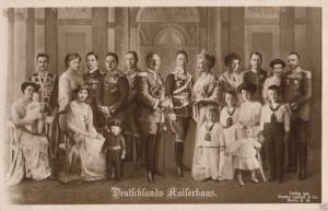 Foto AK, Deutschlands Kaiserhaus