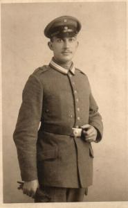 Originalfoto 9x13, Berliner Luftwaffensoldat, ca. 1916