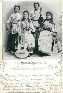 Foto Ak, Musiker, Romanov-Quartett, 1901