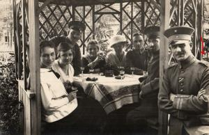 Originalfoto 9x13, Uffz. IR 98, EK, Ca. 1916