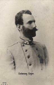 Foto AK, Erzherhzog Eugen, 1912